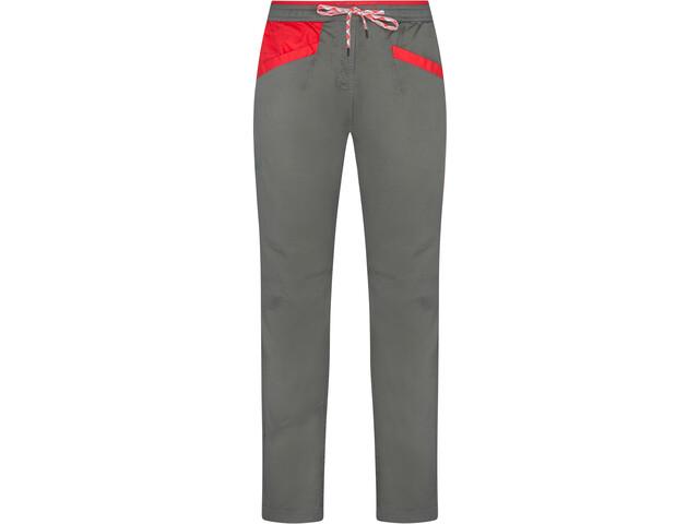 La Sportiva Temple Pantalon Femme, clay/hibiscus